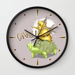 Chaaarge! Wall Clock