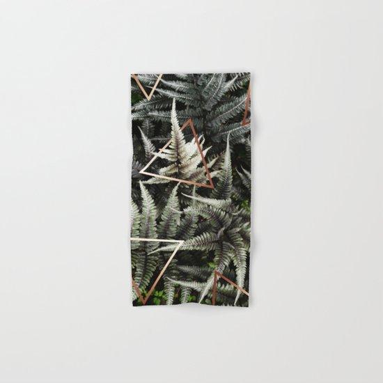 Fern + Copper #society6 #decor #buyart Hand & Bath Towel