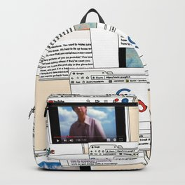 How to disappear Backpack