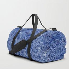 Coral Reef - Indigo Duffle Bag