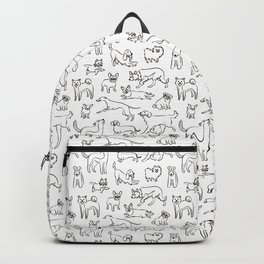 Dogs fun Backpack