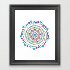 Chemistry fun Framed Art Print