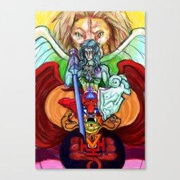 Sword of Judgement Canvas Print