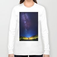 milky way Long Sleeve T-shirts featuring The Milky WAY by 2sweet4words Designs