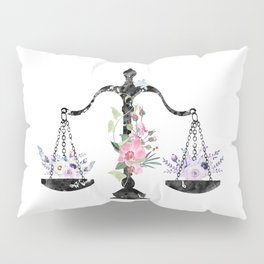 Scales of Justice Art Pillow Sham