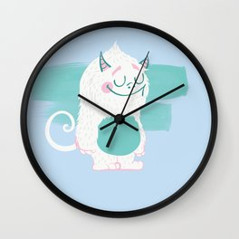 Cute Baby Monster 1 Wall Clock