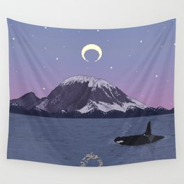 When The Sun Sets Wall Tapestry