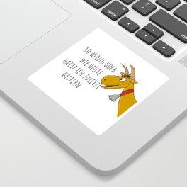 Motivationsschub Sticker