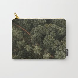 Dutch forest from above   Colourful Travel Photography   Veluwe, Holland (The Netherlands) Carry-All Pouch