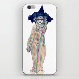Clown Witch iPhone Skin