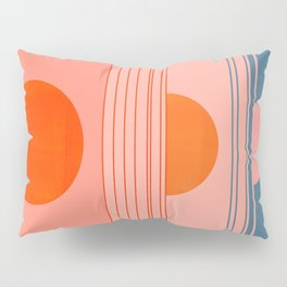 Abstraction_Sunset_Minimalism_002 Pillow Sham