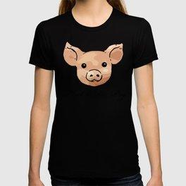 Retro Floral Piggy T-shirt