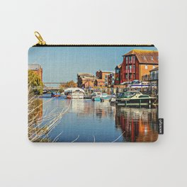 At the riverside. Carry-All Pouch