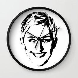 Ellen Degeneres Wall Clock