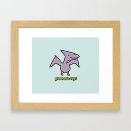 Pterodactyl Framed Art Print