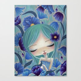 My Blue Heaven Canvas Print