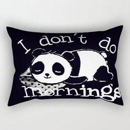 Panda #4 Rectangular Pillow