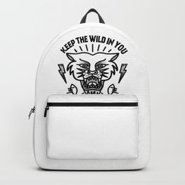 Keep the wild in you Backpack