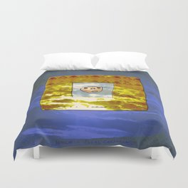 Tribal Idol / Canary Islands Duvet Cover