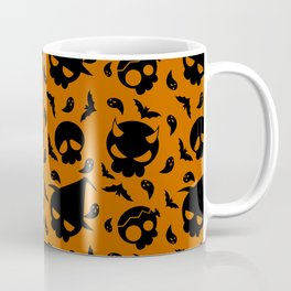 Skulls Pattern Coffee Mug