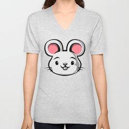 Cute Kids Mouse Unisex V-Neck