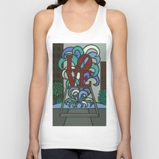 pop LOVE park Unisex Tank Top