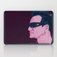 u2 iPad Cases featuring BONO by Gabriele Lerna