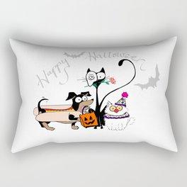 Trick Or Treat Rectangular Pillow