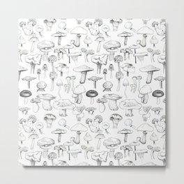 The mushroom gang Metal Print