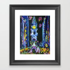 Broad Street New Years Framed Art Print