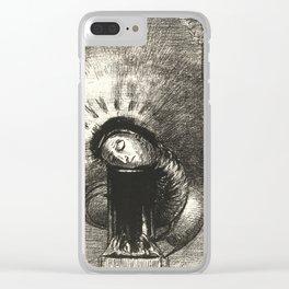 """Odilon Redon """"... une longue chrysalide couleur de sang"""" Clear iPhone Case"""