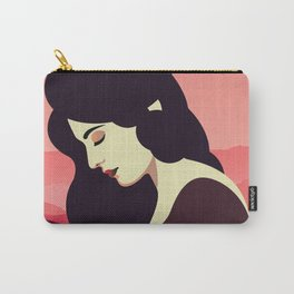 Girl Retro Style 08 Carry-All Pouch