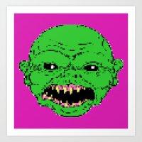 16 bit ghoulie Art Print