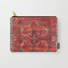 Sarouk Arak West Persian Carpet Print Carry-All Pouch