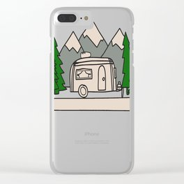 Airstream campers Clear iPhone Case