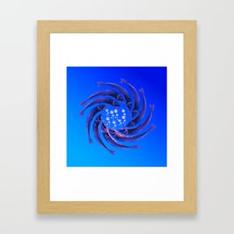 Fishes Dancing Framed Art Print