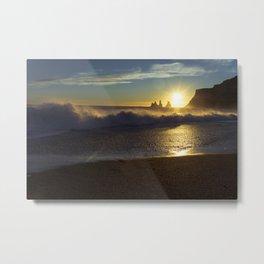 Vik Sunset Metal Print