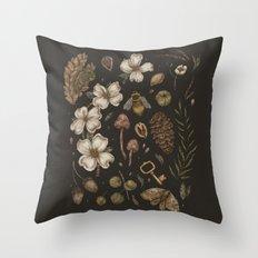 Nature Walks Throw Pillow