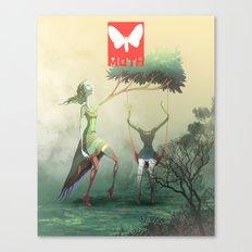 Moth Tx Canvas Print