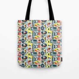 Ski Patches Tote Bag