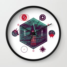 It fell from the stars, It rose from the sea Wall Clock