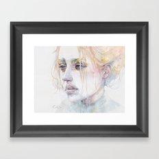 imaginary illness Framed Art Print