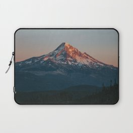 Mount Hood Sunset Laptop Sleeve