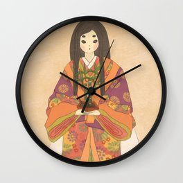 Princess Kaguya Wall Clock