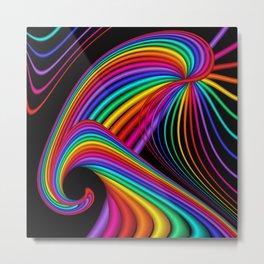 math is beautiful -32- Metal Print