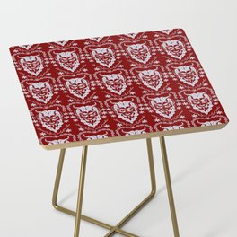 Krampus Red Side Table