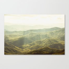 Smoky Mountain Sunshine Canvas Print