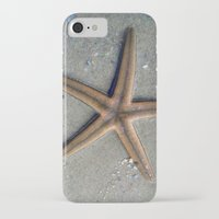 starfish iPhone & iPod Cases featuring Starfish by Nichole B.