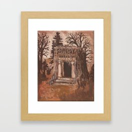 The Tomb Framed Art Print