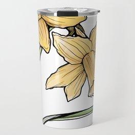 Daffodil: New beginnings Travel Mug